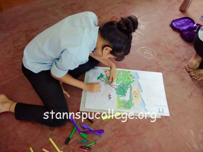St Anns P U College Mangaluru Drawing And Painting